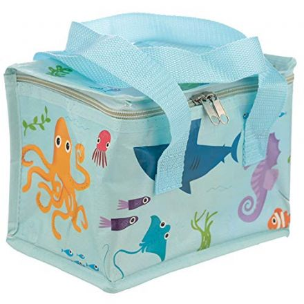 Under The Sea Design Woven Kids | Picnic Cool Bag Lunch Box